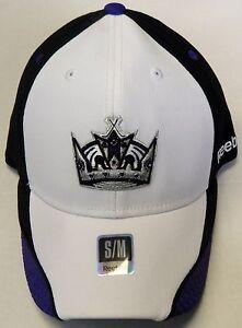 NHL Los Angeles Kings Reebok Pro Shape Flex Curve Brim Cap Hat NEW!