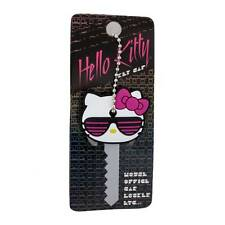 Loungefly Hello Kitty 90's Rubber Key Cap Cover Hot Pink Bow Sunglasses Cute NEW