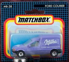 Matchbox MB 38 International Ford Courier Milka China Casting New On Card 1993