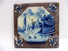 18th Century DUTCH Delft tile with Manganese Borders