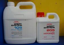 West System Epoxy Resin Kit (H205 Fast Hardener - 4.8Ltr Kit