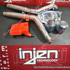 Injen SP Series Polish Dual Cold Air Intake Kit for 2009-2017 Nissan 370Z