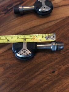 Speedplay Zero Titanium Pedals 50 mm No Cleats Gently Used