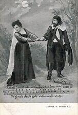 UN BALLO IN MASCHERA by G. VERDI Opera Lirica PC Circa 1900 Rare Opera THEATRE 6