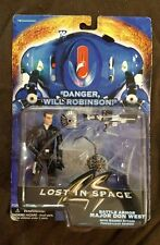 Lost in Space 1997 Battle Armor Major Don West with magnet attack .. spider