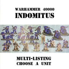 Ready to ship - Warhammer 40k Indomitus Space Marines force (choose a unit)
