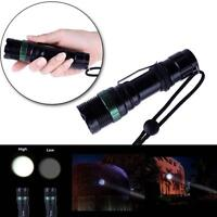 3000 Lumen LED Flashlight Torch Zoomable Focus CREE XM-L Q5 Zoom Lamp Light MT