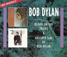 "COFFRET 2 X CD ALBUM BOB DYLAN ""BLOOD ON THE TRACKS & ANOTHER SIDE OF BOB DYLAN"""