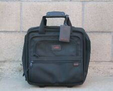 TUMI 2214D3 Ballistic Nylon Rolling Boarding Carry On Laptop Wheeled Briefcase