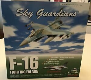 Witty Wings Sky Guardians USAF Blue Camo Nellis AFB F-16 Fighting Falcon 1:72