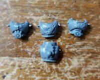 Warhammer 40k Dark Angels UPG Bits: Dark Angels Ravenwing Engraved Torsos x3