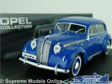 OPEL ADMIRAL MODEL CAR 1:43 SCALE BLUE IXO COLLECTION 1937-1939 K8