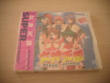 >> MEGAMI TENGOKU PARADISE PC ENGINE SUPER CD JAPAN IMPORT NEW FACTORY SEALED <<