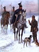 JAN CHELMINSKI DUCHY CAVALRY NAPOLEONIC WAR POLAND ART PRINT POSTER BB8499
