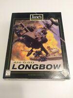 AH-64D Longbow: Original Rare CD-ROM 2 Disks PC Big Box All Inserts