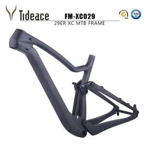 Full Suspension Carbon Fiber Mountain Bike Frame 29er with BB92 Thru axle 12*148