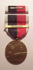 WW II Army of Occupation Medal Set with GERMANY BAR on Ribbon