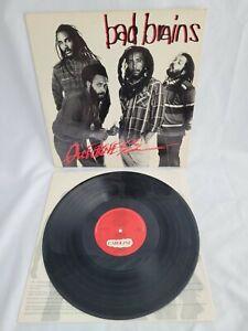 Bad Brains Quickness LP Vinyl Record Album
