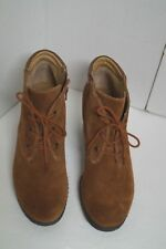 Montana Brown Suede Ankle Boots Size 11 US EUC