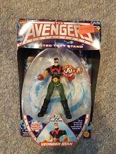 Marvel Comics The Avengers WONDER MAN Action Figure Toybiz Light Up