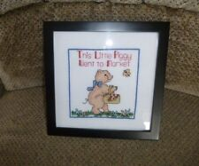 Counted Cross Stitch | HANDMADE & FRAMED| FREE SHIPPING