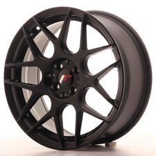 Japan Racing JR18 Alloy Wheel 17x7 - 4x100 / 4x114.3 - ET40 - Matt Black