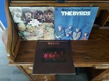 The Byrds: Turn! Turn! Turn! , Self Titled & Greatest Hits LP Vinyl Albums