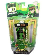 Bandai Ben 10 Ten Omniverse OMNITRIX SHUFFLE Light & Sounds Watch NEW