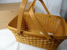 Longaberger Handwoven Tribute to His Life Basket