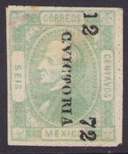dg38 Mexico #99 6ctv perf Victoria 12-72 Mint Original Gum Very Fine est $50-90