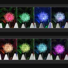 Outdoor Waterproof Dandelion 4* LED Solar Light Garden Yard Lawn Lamp Decor