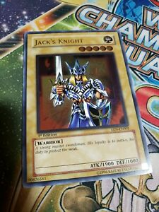 Yu-Gi-Oh! Jack's Knight - EEN-EN005 - Ultimate Rare 1st Edition VLP