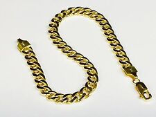 "10k Yellow Gold Miami Cuban Curb Link 6.5"" 5.3 mm 5 grams Bracelet 150HMC"