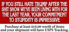 Anti Biden Bumper Sticker Commitment to Stupidity 8.6 x 3 Trump 2024 MAGA