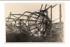 RARE ANTIQUE GRAF ZEPPELIN LZ IV PHOTO CATASTROPHE in ECHTERDINGEN