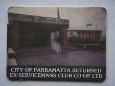 CITY OF PARRAMATTA RETURNED EX-SERVICEMANS CLUB CO-OP LTD 6635177 HOURS COASTER
