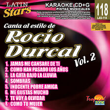 Karaoke Latin Stars 118 Rocio Durcal Vol.2