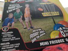 Wham-O Mini Frisbee Golf Disc Toy Set 6 Mini disc & target FREE SHIPPING
