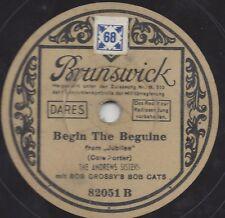 Andrew Sisters auf Brunswick Weissetikett : Begin the Beguine