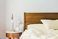 100% De Bambú De Lujo King Size duvet cover set-Cubierta, Hoja Plana & Fundas De Almohada