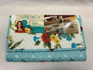 """The Pioneer Woman Sweet Rose Quilted Table Runner, 14""""x72"""""""