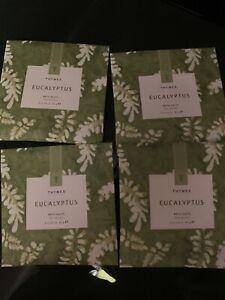 Thymes eucalyptus Bath Salts Envelopes - Lot Of 4