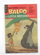 Baloo and Little Britches Fine+ Gold Key Disney Cbx100