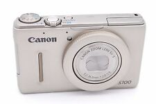 Canon PowerShot S100 12.1 MP Digital Camera - Silver