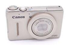 Canon PowerShot S100 12.1 MP Digital Camera - Silver