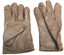 Brown Leather Police Gloves