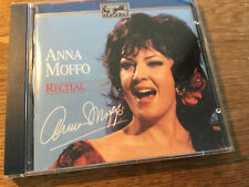Anna Moffo - Recital  [CD Album] eurodisc  Chamounix Traviata Tosca Feldermaus