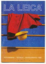 """G.Rogliatti """"La Leica"""" famosa rivista trimestrale 1988 E506"""