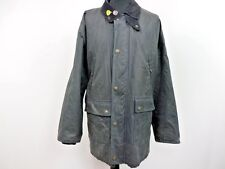 "Waxed Stone Casual Blanket Lined Wax Jacket Size GB 46 56"" Navy Grade B W858"