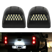 BRIGHT SMD LED License Plate Light Lamp For 1999-2013 Chevy Silverado Avalanche